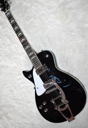 $enCountryForm.capitalKeyWord NZ - Black semi-hollow electric guitar, gold hardware, fixed bridge, binding body, gold hardware, high quality personalized service