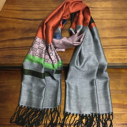 Cotton Print Material NZ - New classic design size 200cm -55cm cotton material print letters long scarves pashmina scarf for women