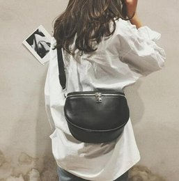 Open bust leather online shopping - New Arrival Fashion Pure Color Women Leather Shell Messenger Shoulder Bag Bust Bag Crossbody Bag Money Phone Travel Hottest
