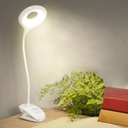 $enCountryForm.capitalKeyWord Australia - Gooseneck Led Desk Lamp Modern Touch Switch Dimmer Rechargeable 18650 Battery Bedside Room Study Lamp Night Light Table Lamps