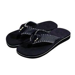 dda565074 Hot Selling Men Summer Stripe Flip Flops Shoes Sandals Male Slipper  Flip-flops EVA Mixed Colors Shoes 2017 fashion design  57010
