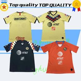 Best Club Jerseys Australia - S-XXL New 2019 2020 LIGA MX Club America Soccer Jersey 19 20 home away 3rd O.PERALTA best quality football shirts
