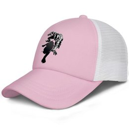 Cool Unisex Kids Hats Australia - COOL Black Panther Movie logo kids baseball caps One Size Teen baseball cap Twill pink cap cute baseball caps hats