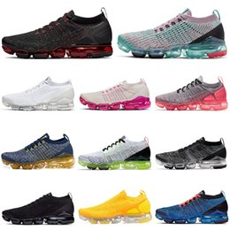 ShoeS Sport beach online shopping - 2 running shoes men women sneakers Triple White Black South Beach Laser Gold CNY mens trainers Sports des chaussures