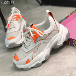 sneakers for jogging Canada - Top Fashion Casual Shoes Sneakers New Triple-S Sneaker Casual Dad Shoes For Women Running Jogging White Sports Size 36-40 Type3