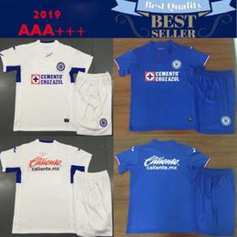 62d3df1da59 2019 2020 Mexico club Liga MX CDSC Cruz Azul Soccer jersey home blue away  white 3rd orange football shirt camisetas de futbol