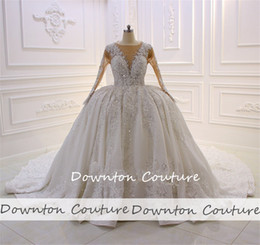 $enCountryForm.capitalKeyWord NZ - Newest Luxury lebanon Ballgown Wedding Dresses Dubai Weddings Heavy Crystals Bodice Bridal Dress Wedding Gowns free shipping