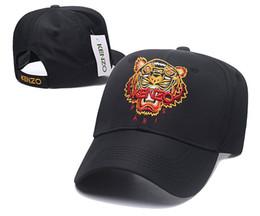 $enCountryForm.capitalKeyWord Australia - Factory Price Baseball Hat Embroidered Tiger Head Justin Ball Caps Womens Designer Beanie Hats Eminem Fitted Ball Cap DF16G22