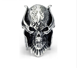 $enCountryForm.capitalKeyWord Australia - Return to the ancients Pirate icon ring 316L Men's Titanium steel ring casting men's ring width 8MM