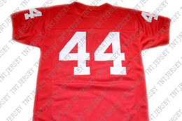 wholesale Forrest Gump  44 The Movie New Football Jersey Red Stitched  Custom any number name MEN WOMEN YOUTH Football JERSEY 556d1e0a3