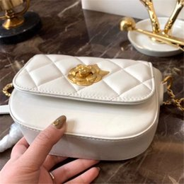 Handbags Ship Prices Australia - designer Womens Crossbody Handbags Camellia blossom lock NewEST style Chain Handbags Best Selling with Letter Factory Price free shipping