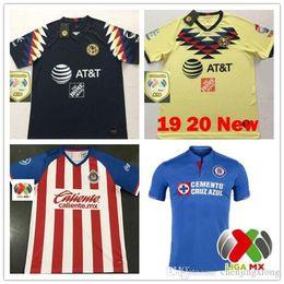 3c2a9bbe2b8 New 2019 Chivas de Guadalajara Home Jerseys Soccer Jerseys 19 20 MEXICO  Club America Tigres UNAM 2020 LIGA MX Cruz Azul Football Shirts
