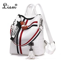 Styles Backpacks Australia - Bags For Women 2018 New Retro Fashion Zipper Ladies Backpack Pu Leather High Quality School Bag Shoulder Bag For Youth Bags Y19051502