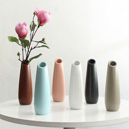 Living Room Suits Australia - Simple and stylish ceramic Vase wedding Decorative vase suit High-grade Fashionable Household Decoration Living Room Decor