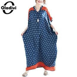 c57bbe20d40 Oladivi Brand Oversized Clothes Fashion Print Casual Dress Plus Size Women  Loose Dresses Ladies Long Top Shirt Tunics Vestidios J190511