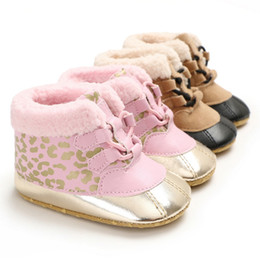$enCountryForm.capitalKeyWord NZ - Winter Soft Plush Baby Warm Booties Infant Anti Slip shoes Snow Boots super Warm Cute ball Baby Girl Boy Boots soft sole