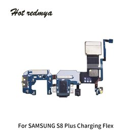Connector Plus Australia - 50Pcs High Quality USB Flex Charger Charging Port Dock Connector Flex Cable Replacement Part For Samsung Galaxy S8 Plus G955U G955F Free DHL