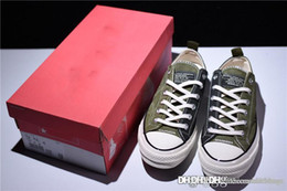 $enCountryForm.capitalKeyWord NZ - 2018 Top Quality All MADNESS x NEW Chuck 1970s First String Star Olive Green Fragment Design Tuxedo Gray Sneaker shoes Taylor With box