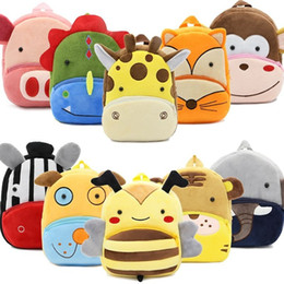 toddler boys gifts Australia - Boy Girl Children Kindergarten School Bag Kids Backpack Plush Cartoon Toy Baby Gift for Kids Backpacks Lovely Toddler.