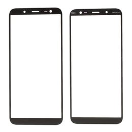 lcd samsung edge 2019 - 10pcs Replacement Original LCD front touch screen glass exterior lens for Samsung Galaxy J6 2018 J600 SM-J600F cheap lcd