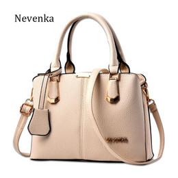 Names Ladies Handbags Australia - Women Bag Lady Handbag OL Style Shoulder Bags Casual Zipper Messenger Bags PU Leather Bag Brand Name Tote Satchel Sac