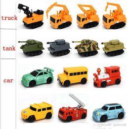 $enCountryForm.capitalKeyWord Australia - Original Inductive Car Diecast Vehicle Magic Pen Toy Tank Truck Excavator Construt Follow Any Line You Draw Xmas Gifts for Kid TO301