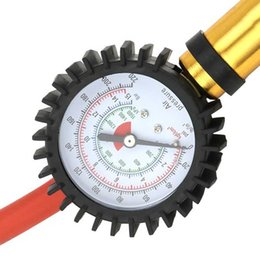PumP meter online shopping - Tire Air Inflator Tyre Pressure Meter Car Truck Pump Hose Gauge Compressor Tool V6