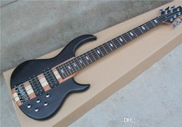 $enCountryForm.capitalKeyWord Australia - Frosted Black 6 Bass Electric Guitar Strings with SSH Pickups 2, 24 Frets, neck-thru-body, Chrome hardware, offering services