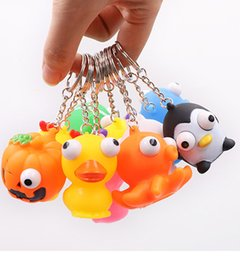 $enCountryForm.capitalKeyWord Australia - Vent squeeze small toys stress relief toys squeeze eyes figures burst eyes with key rings