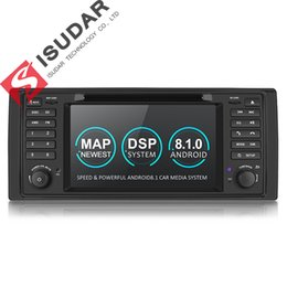 $enCountryForm.capitalKeyWord Australia - Isudar Car Multimedia System Android 8.1 1 Din Automotivo DVD For BMW 5 Series X5 E53 E39 GPS Radio FM Quad Core 2+16GB USB DVR