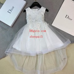 $enCountryForm.capitalKeyWord Canada - girls dresses Summer New Embroidery tutu skirt Flower Baby Girls Party Gradient Dresses Kids Wedding Dress Little Girl clothes G-u2