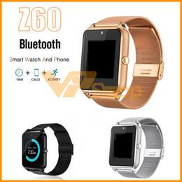$enCountryForm.capitalKeyWord Australia - Z60 Bluetooth Smart Watch Android iOS Phone Wristwatch Support SIM TF Card Camera Fitness Tracker GT08 GT09 DZ09 A1 V8 Smartwatch