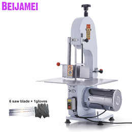 $enCountryForm.capitalKeyWord Australia - BEIJAMEI 1500W electric frozen fish beef cow pork meat bone cutting cutter saw machine with blade sharpening