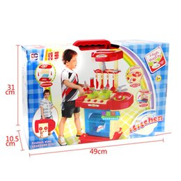 kitchen puzzle Australia - Multifunction Simulate Kitchen Tableware Play House Puzzle Toy for Kids Boys Girls Baby Kids Pretend Play Educational Toys