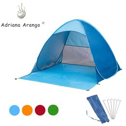 $enCountryForm.capitalKeyWord Australia - Adriana 2019 Outdoor Portable Beach Tent Camouflage Camping Tent for 2 -3 Person Single Layer Polyester Fabric 12-color