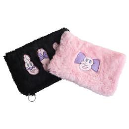 Plush Phone Holders Australia - Cute Rabbit Day Clutches For Women Clutch 2019 Winter Plush Women Evening Party Bag Fashion Embroidery Females Holder New Bolsa
