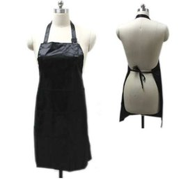 Hairdresser Styles Australia - Professional Waterproof Treatment Apron Hair Cutting Bib Barber Home Styling Salon Hairdresser Waist Cloth E2S