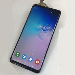 1g Ram Gps Australia - Goophone S10+ S10plus 6.5inch Curved screen 1G RAM 8G ROM MT6580P face id bluetooth 4.0 WIFI GPS