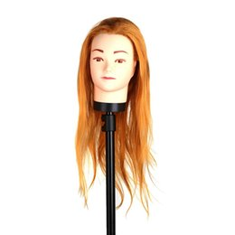 hair model heads Australia - Hair Hairdressing Training Head Practice Model Mannequin Cut with Clamp W255