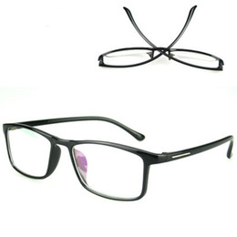 Chinese  NEW TR90 Blue Light Blocking Glasses Square Eyeglasses Frame Black Anti Blue Ray Computer Game Glasses manufacturers