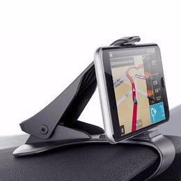$enCountryForm.capitalKeyWord Australia - 1pc Clip-on Steady HUD Design Auto Car Dashboard Smart Mobile GPS Stand Mount Holder Support Clamp Adjustable Display Angle
