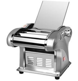 $enCountryForm.capitalKeyWord Australia - Electric Noodle Press Machine Spaghetti Pasta Maker Commercial Stainless Steel Dough Cutter Dumplings Roller Noodles Hanger LLFA