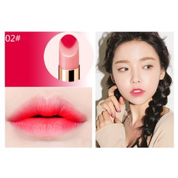 $enCountryForm.capitalKeyWord Australia - 2019 Gradient Lipstick Double Color Moisturizing Lipsticks with 2 Tone Lip Bar Long Lasting Candy flavor