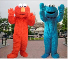 $enCountryForm.capitalKeyWord UK - Sesame Street Red Elmo Mascot Costume Party Costumes Chirstmas Fancy Dress COOKIE MONSTERcostume mascot Adult Size