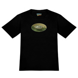 $enCountryForm.capitalKeyWord Australia - Painted Turtle on a Mossy Log Men's Novelty T-Shirt Men Women Unisex Fashion tshirt Free Shipping black