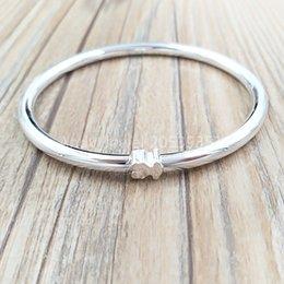 Authentic 925 Sterling Silver bracelets Silver Warm Bracelet Fits European bear Jewelry Style Gift 712351500 on Sale