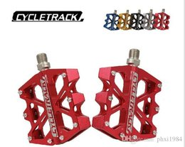 Bicycling Gear Australia - HITO bicycle pedals ck riding track ck-028 wide six-Peilin bicycle mountain bearing ankle