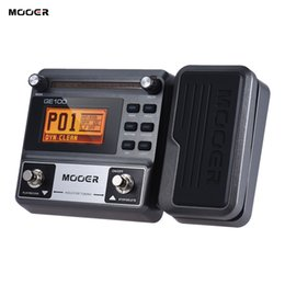 Effects Pedals Australia - MOOER GE100 Guitar Pedal Multi-effects Processor Effect Pedal with Loop Recording Tuning Tap Tempo Rhythm Setting sg guitar