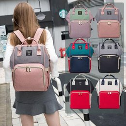 girl diaper mommy NZ - Multifunctional Mummy Maternity Nappy Bag Mommy Backpack Zipper Large Capacity Travel Maternity Bag Baby Diaper Bags Nursing Bag