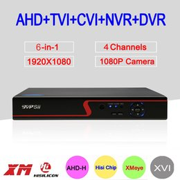 $enCountryForm.capitalKeyWord NZ - 2MP Surveillance Camera Red Panel Hi3520D 6 in 1 XMeye 4CH 4 Channel 1080P Hybrid WIFI XVI NVR TVI CVI AHD CCTV DVR FreeShipping